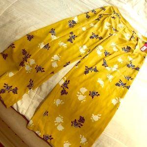 Wide leg summer pants